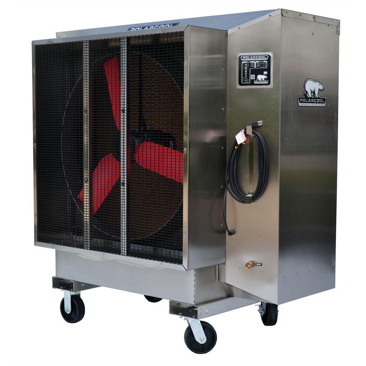 Evaporative Cooling Units : Polarcool portable evaporative cooling system