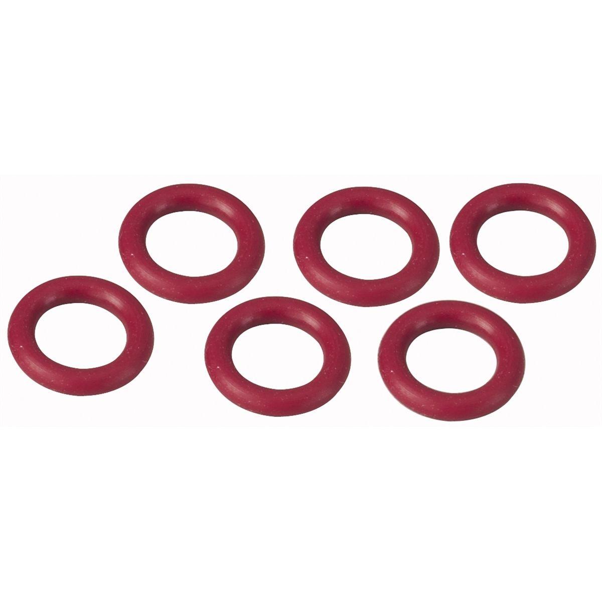 Robinair 18180 1/4 Quick Seal O-Ring Set Red