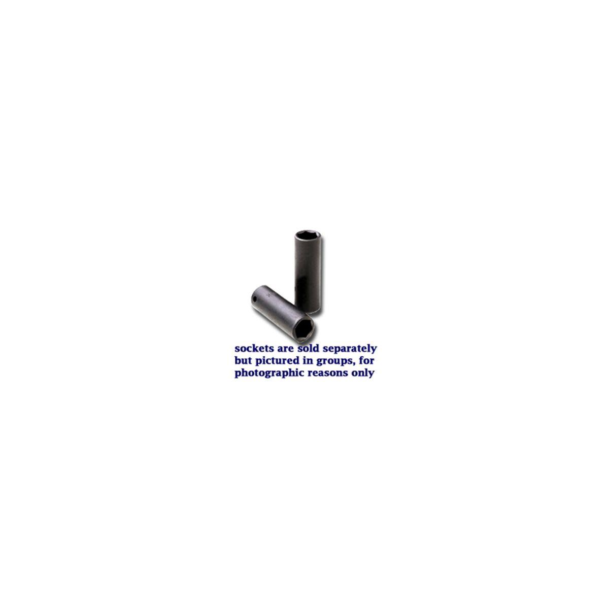 13mm SK Hand Tool 34263 1//2-Inch Drive Deep Impact Socket