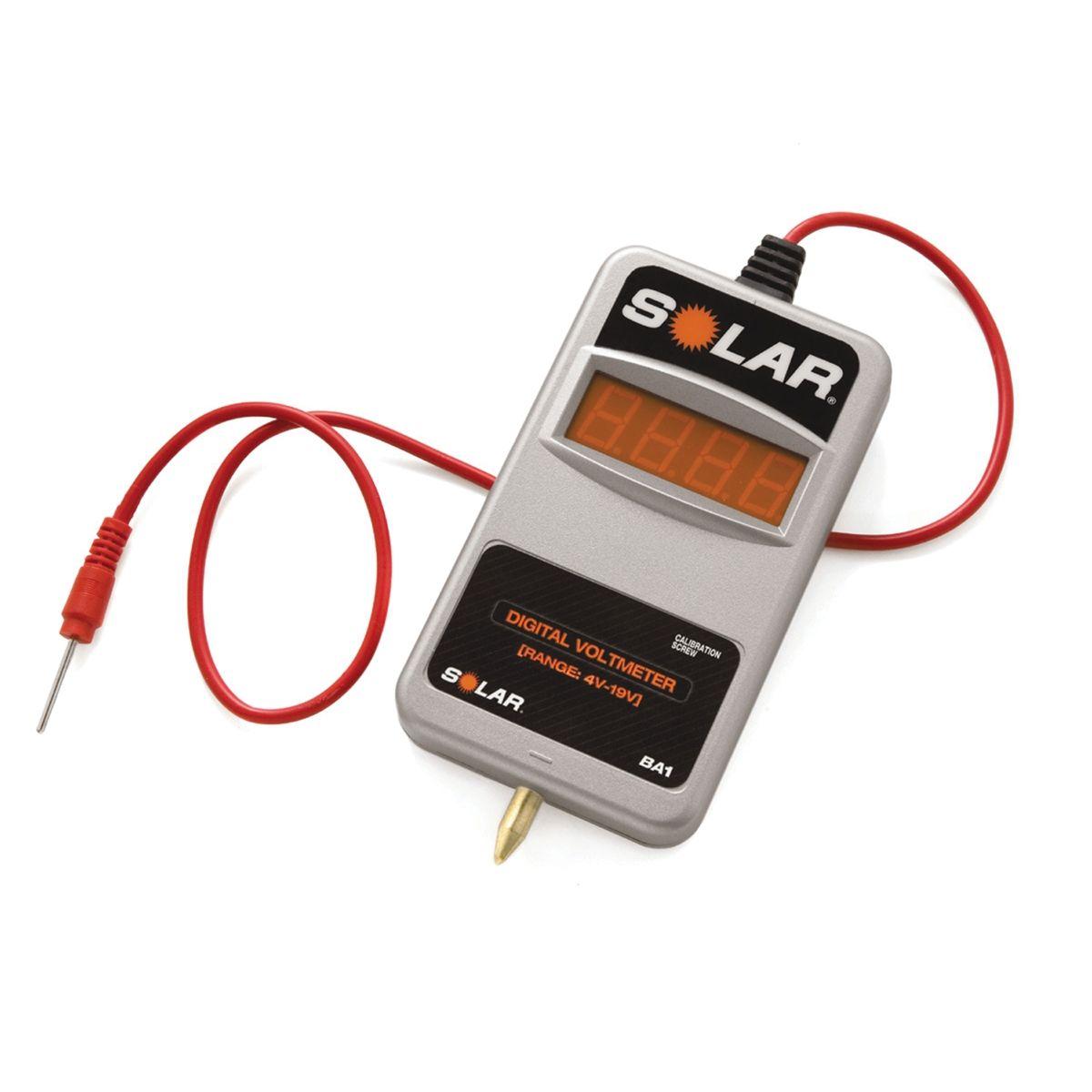 Digital Voltmeter Walmart : Solar ba volt digital voltmeter solba