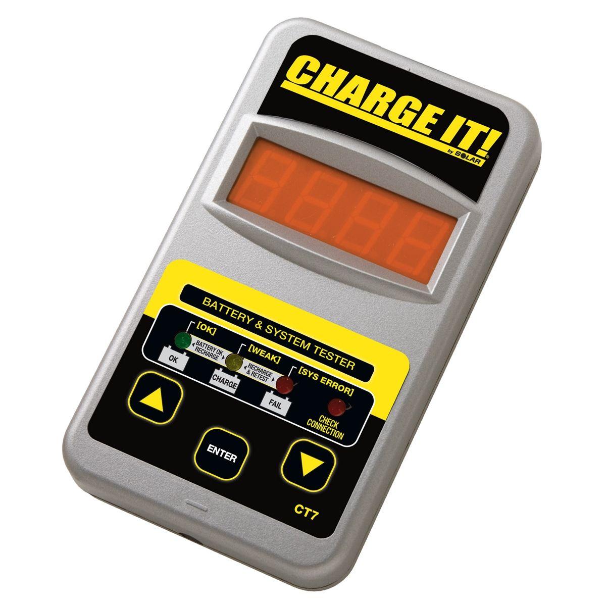 12 Volt Battery Tester : Solar v digital battery and system tester ct