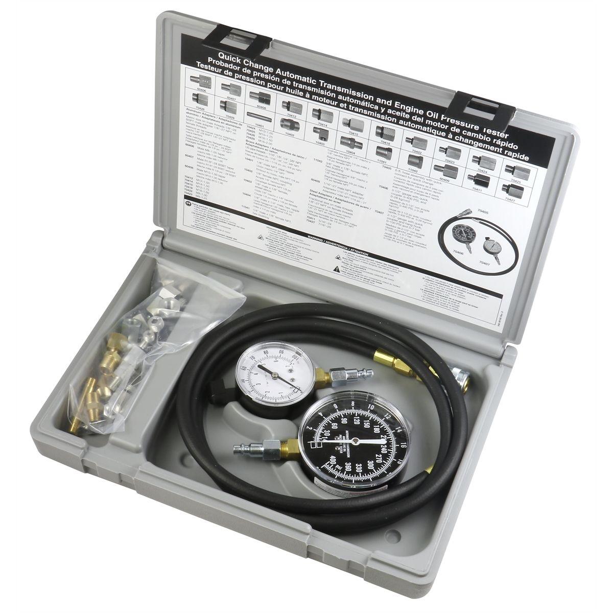 transmission  engine oil pressure tester star products tu