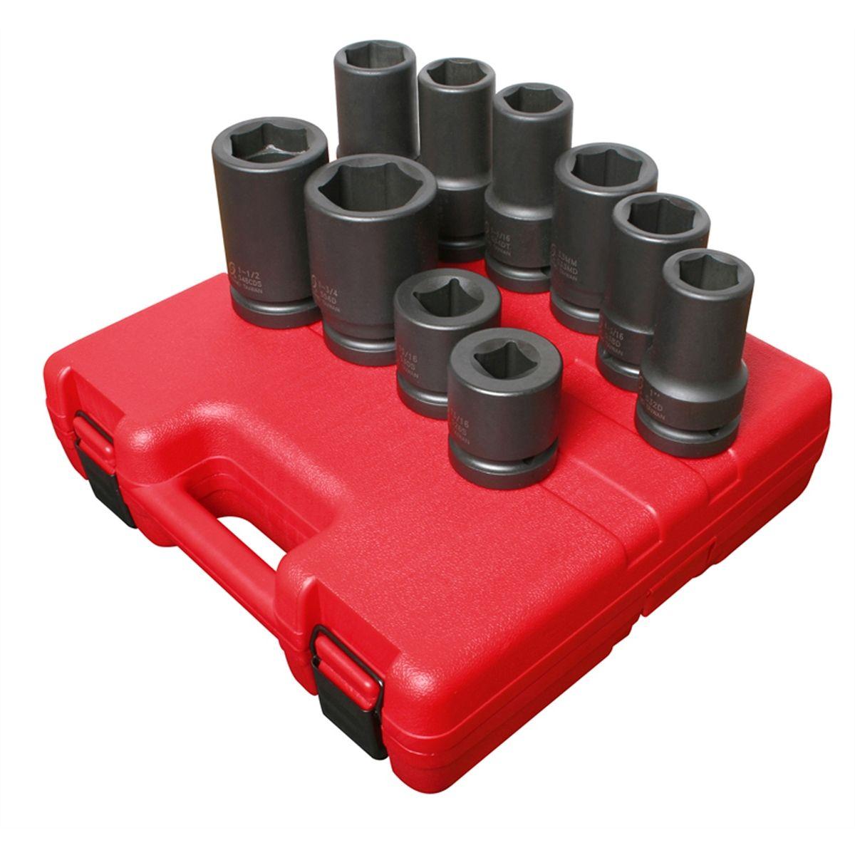 Sunex 4300 3//4-Inch Female 1-Inch Male Impact Socket Adapter