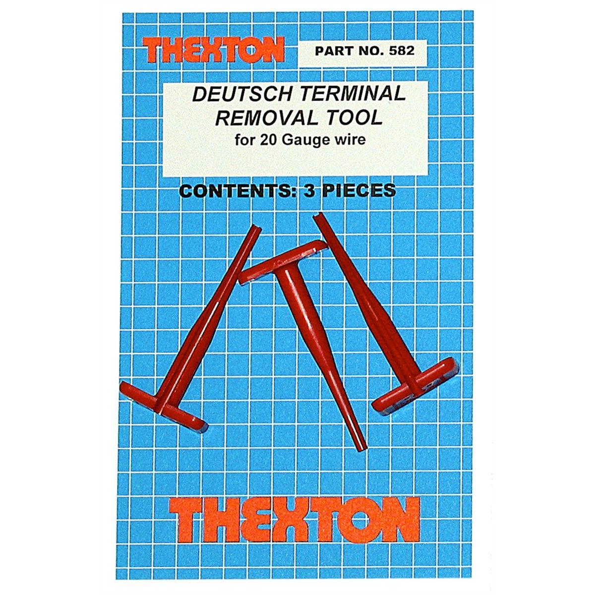 Deutsch Terminal Release Tool for 20 Gauge Wire | Thexton Mfg Co | 582