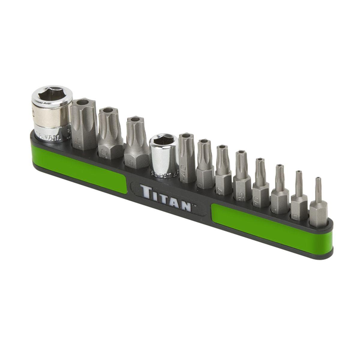 Tamper Resistant Torx Bit Set T8-T55 13 Pc