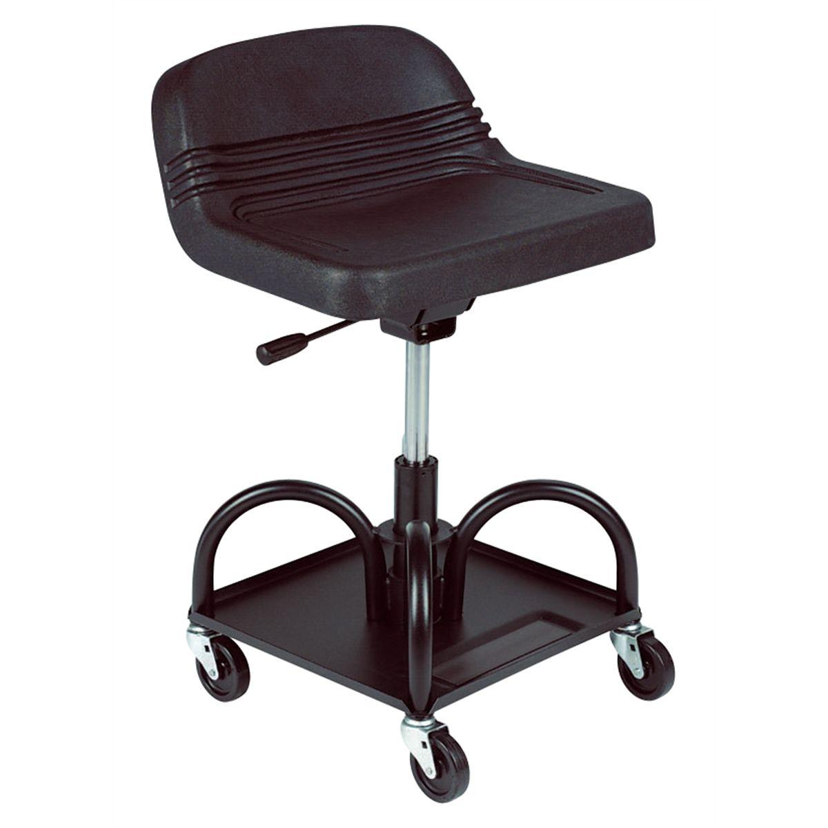 Tremendous Adjustable Pneumatic Creeper Seat Ibusinesslaw Wood Chair Design Ideas Ibusinesslaworg