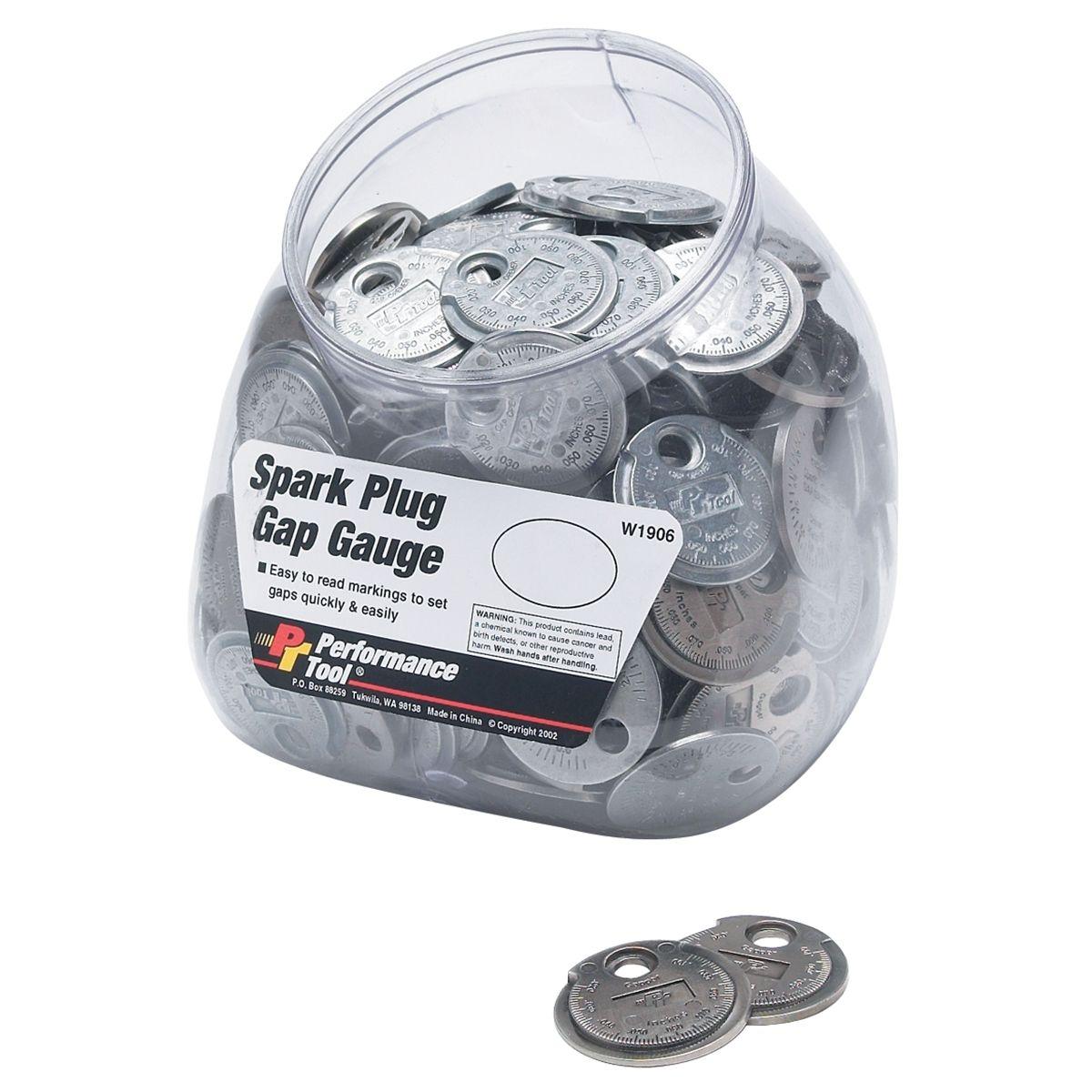 how to read spark plug gap tool