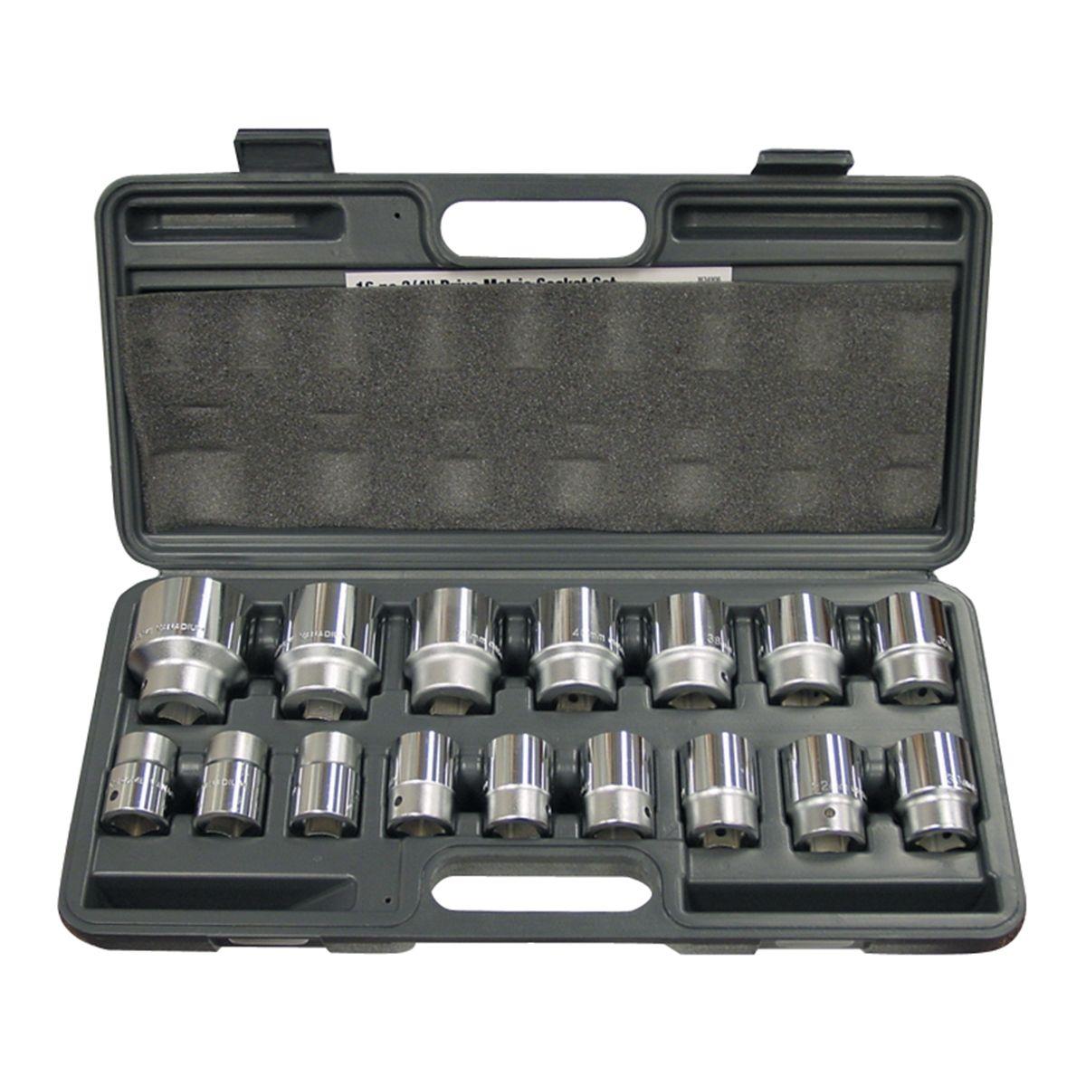 Performance Tool W32810 1//2 Dr 10mm 12Pt Chrome Vanadium Socket