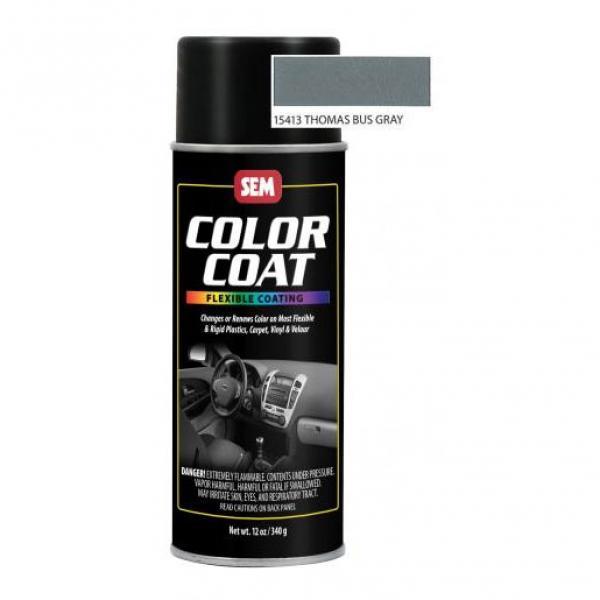Color Coat Aerosol - Thomas Bus Gray