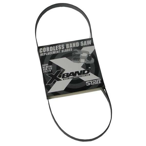 X-Band Bi-metal Blades 24 TPI 3-Pk