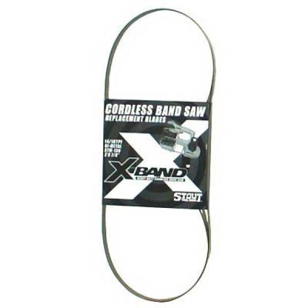 X-Band Bi-metal Blades, 14-18vtpi, 3-Pk
