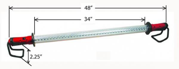 The Saber Light 30-Watt Underhood Light
