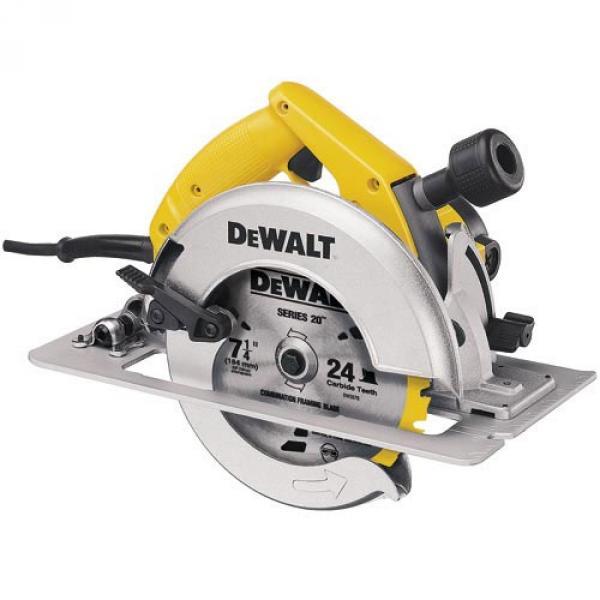 7-1/4 In Circular Saw Kit w/ Rear Pivot Depth of Cut Adjustment