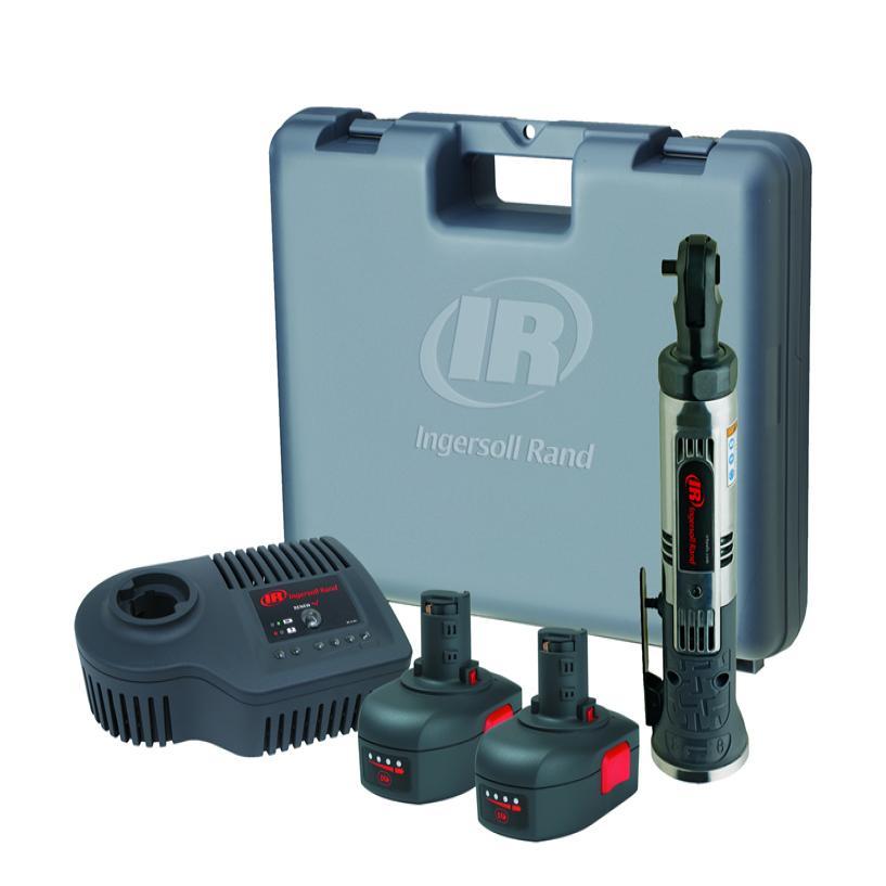 """1/4 """" 7.2V Variable Speed Ratchet 2 Battery Kit"""
