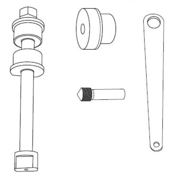 Steering Knuckle Repair Cost: Steering Knuckle Centering Gauge