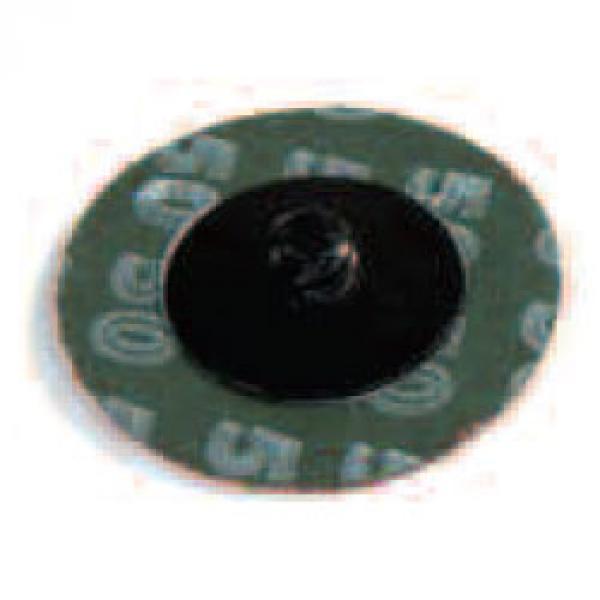 "Aluminum Oxide Mini Grinding Discs Type R 2"" 24 Grit 50/Box"