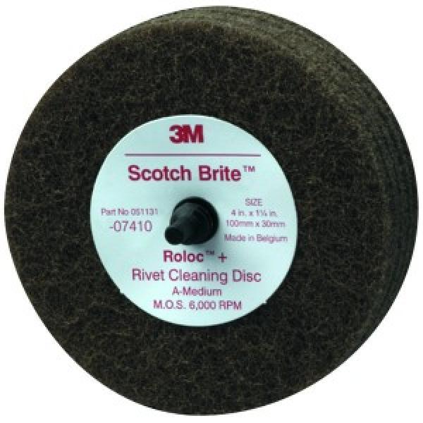 Scotch-Brite Roloc & General Purpose Scuffing Wheel, 4 Inch