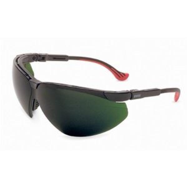 Genesis XC Safety Eyewear, Black Frame, Shade 5.0 Infra-Dura Ult