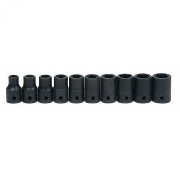 "11mm 6Pt Impact Deep 3//8/""Drive Supertorque Black Industrial USA Socket 12M-611"
