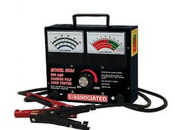 Associated Equipment Corp 6034 6//12 Volt 500 Amp Carbon Pile Load Tester