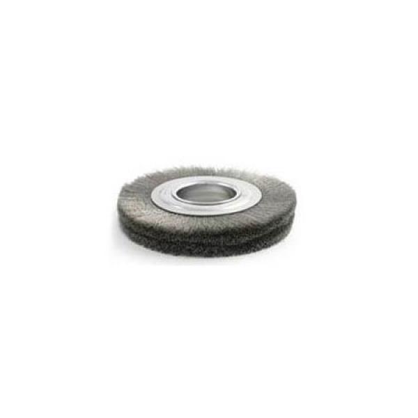 .014 SS Wire Wheel Brush - Medium Face Standard Duty