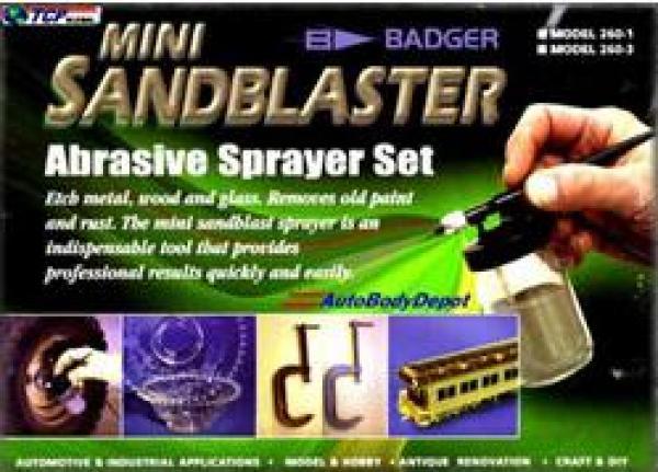 Abrasive Gun/Hose/Mask/Abrasive