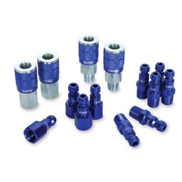Industrial Air Plug Air Fittings Steel Plug Coupler 1//4 x 1//8 Female NPT Hansen or Milton type Air Tool Plug Industrial Air Hose Fittings Air Compressor Fittings Air Tool Fittings Super-Deals-Shop