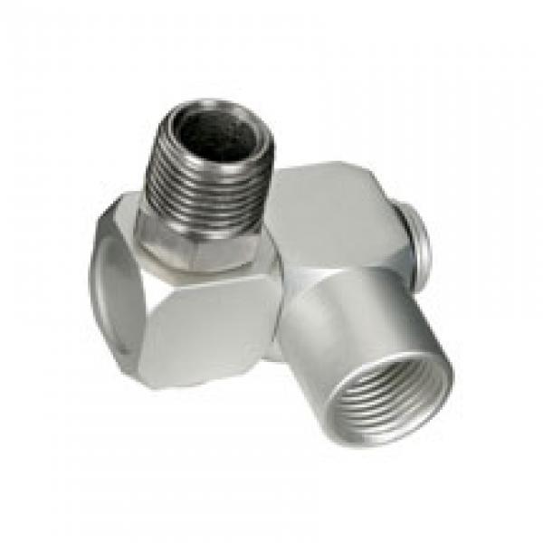 Swivel connector inch npt female end