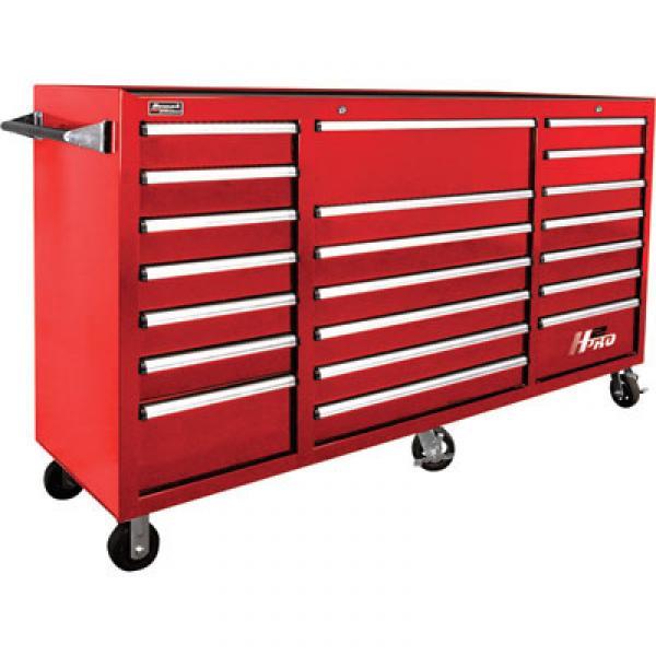 homak rd04021720 72 h2pro 21 drawer rolling cabinet. Black Bedroom Furniture Sets. Home Design Ideas