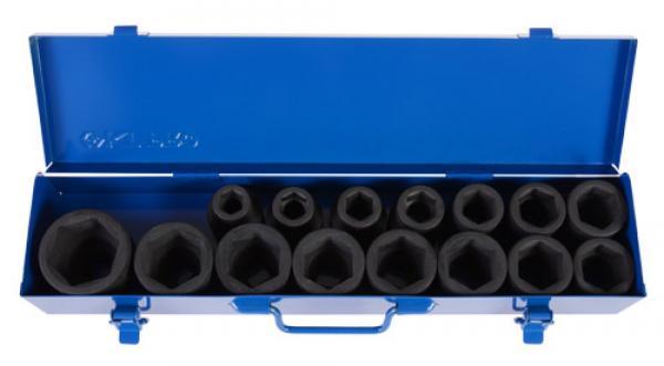 KT Pro Tools A6403MP 3//4 Drive Impact Socket Set King Tony