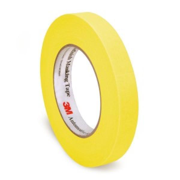 Automotive Refinish Yellow Masking Tape, 18 mm