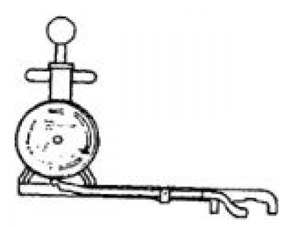 gm timing belt guage