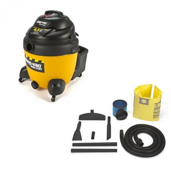 The Right Stuff 18 Gallon 6.5 Peak HP Wet Dry Vacuum