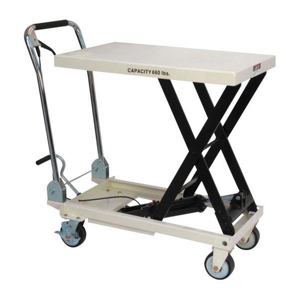 Slt 660f Scissor Lift Table With Folding Handle Jet 140777