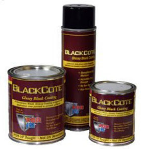 TOP COAT GLOSS BLACK QUART