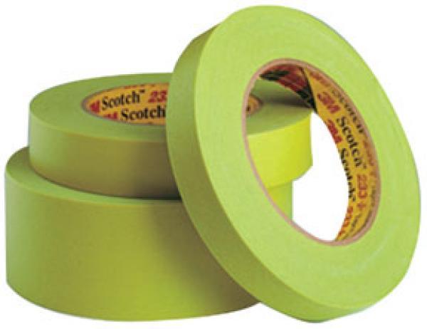 Scotch Performance Green Masking Tape 233+, 12 mm 12/Sleeve