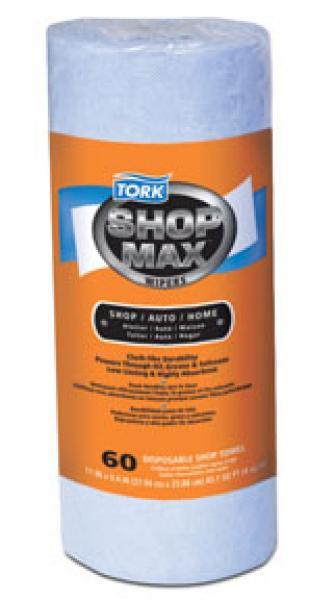SHOP MAX DRC WIPE BLUE 30/CS