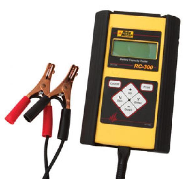 Hand Held Battery Tester Automotive : Auto meter sla battery tester handheld  rc