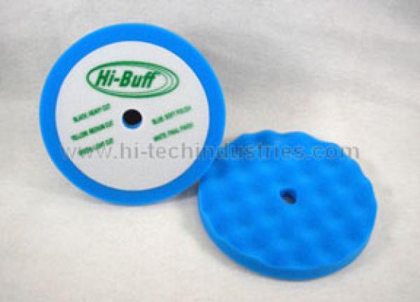 2 PK HI-BUFF BLUE FOAM PADS