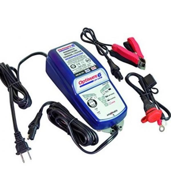TecMate TM-193 OptiMate 6V/12V/24V, 9-step 12V 5 Amp Battery Sav