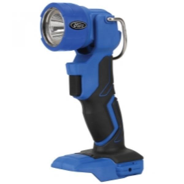 Flashlight 18 Volt, 3W 75/150 Lumens