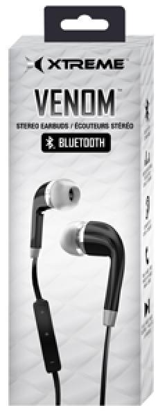 Venom Stero Bluetooth Earbuds