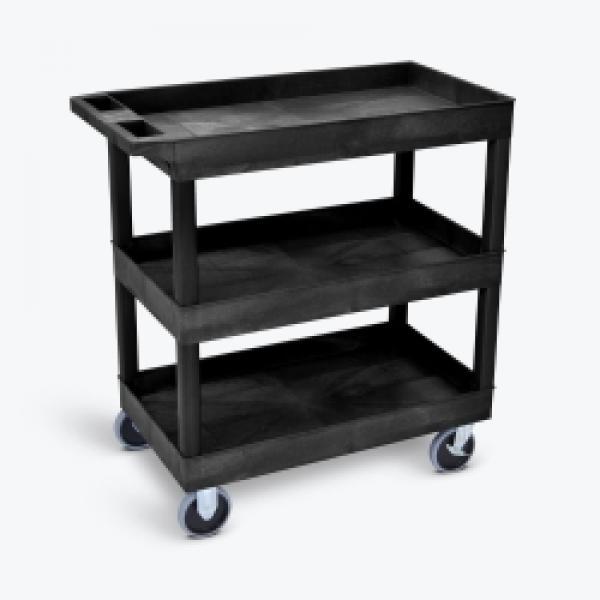Utility Cart Medium Heavy Duty 3 Shelf