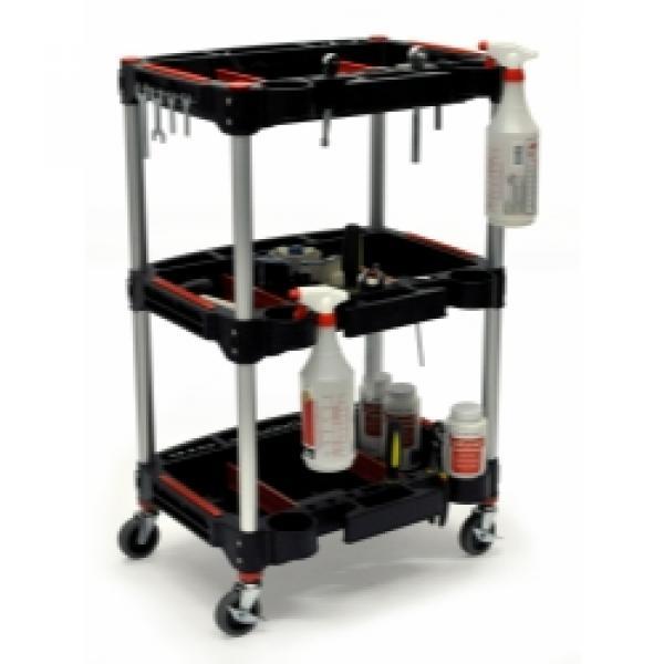 Mechanics Three-Shelf Cart