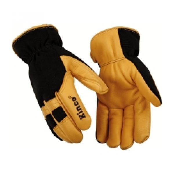 Nylon Back/Deer Palm Glove XL