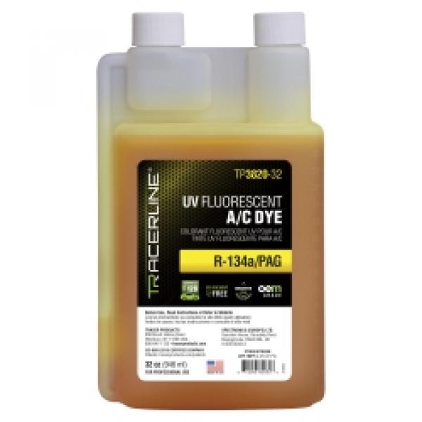 32 oz (946 ml) bottle R-134a/PAG A/C dye