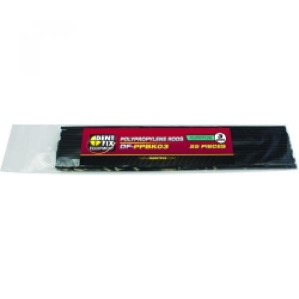 25 PK 3mm Poly Plastic Rods