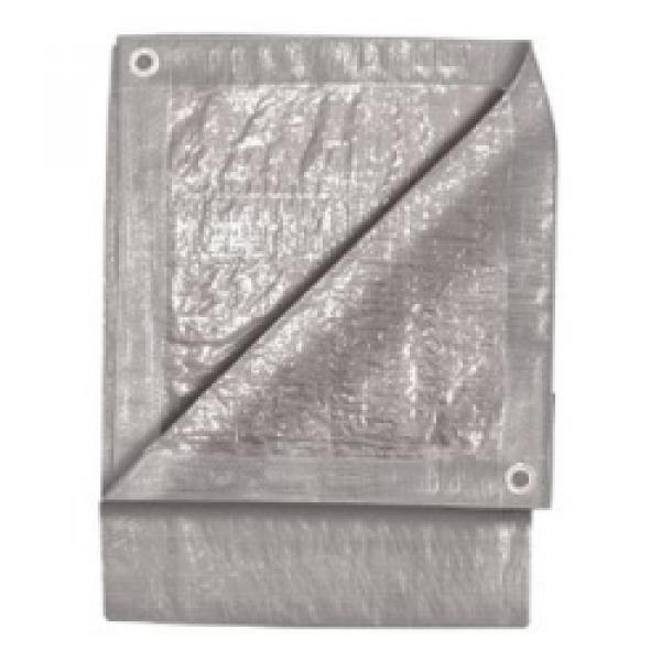 5' x 7' Silver Tarp