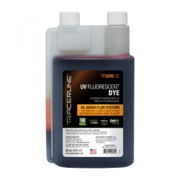 32 oz (946 ml) bottle of fluid dye for oil-base