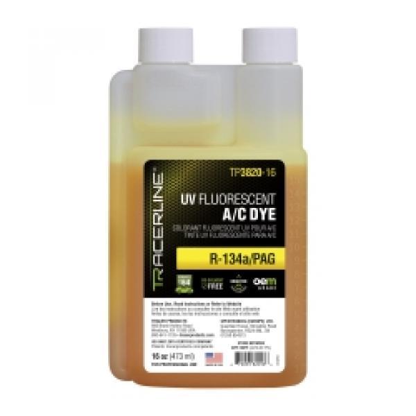 16 oz (473 ml) bottle R-134a/PAG A/C dye